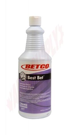 Photo 1 of 0771200 : Betco Best Bet Liquid Creme Cleanser, 946mL