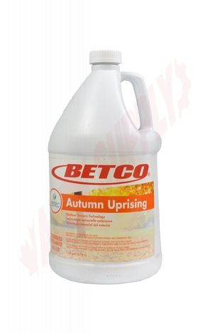 Photo 1 of 41100400 : Betco SenTec Autumn Uprising Malodour Eliminator Concentrate, 3.8L