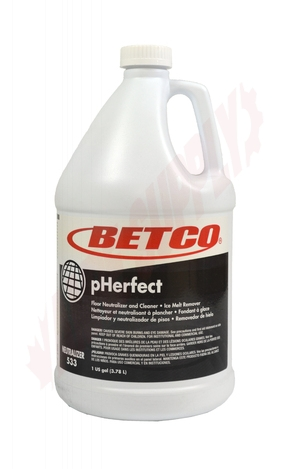 Photo 1 of 5330400 : Betco pHerfect Floor Neutralizer & Cleaner, 3.78L