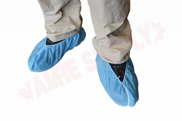 Photo 1 of 7710 : Globe Shoe Covers, Slip-Resistant, Large, 100/Pack
