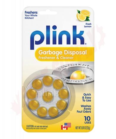 Photo 1 of PLM12T : Plink Garbage Disposal Cleaner & Deodorizer, Lemon