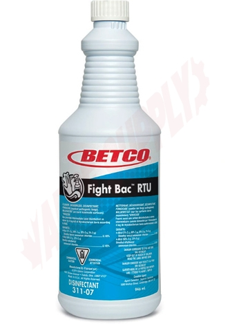 Photo 1 of 3111207 : Betco Fight-Bac Ready-to-Use Disinfectant, 946mL