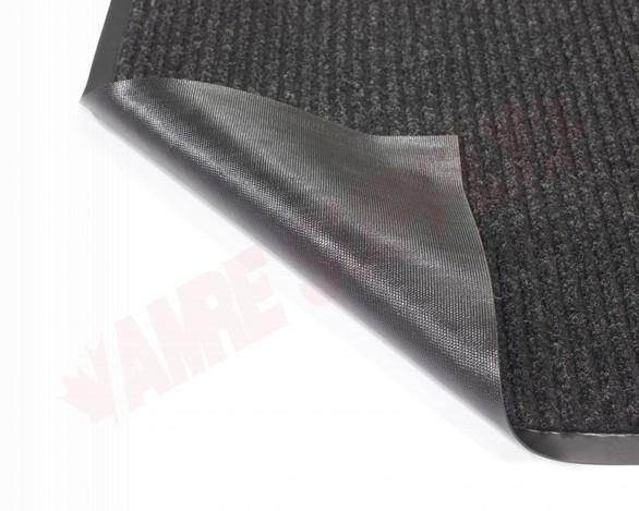 Photo 5 of TWR200305 : Edgewood Twin Rib 3' x 5' Charcoal Wiper/Scraper Floor Mat