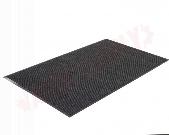 Photo 4 of TWR200305 : Edgewood Twin Rib 3' x 5' Charcoal Wiper/Scraper Floor Mat