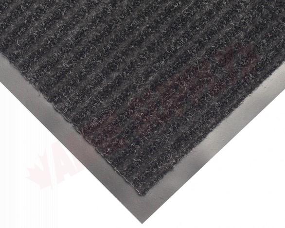 Photo 3 of TWR200305 : Edgewood Twin Rib 3' x 5' Charcoal Wiper/Scraper Floor Mat
