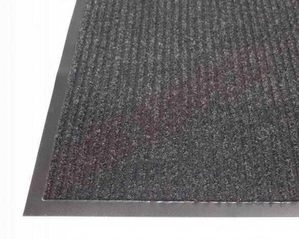 Photo 2 of TWR200203 : Edgewood Twin Rib 2' x 3' Charcoal Wiper/Scraper Floor Mat