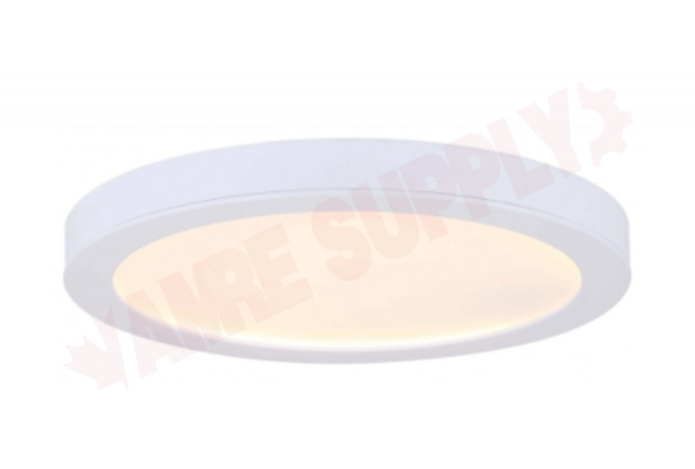 Photo 1 of DL-11C-22FC-WH-C : Canarm 11 Low Profile LED Flush Mount Disk Light, White, 3000K