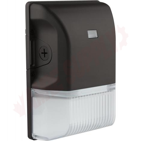 Photo 1 of 65-265 : Satco LED Outdoor Small Wall Pack, Photocell, 20W, 4000K, Black