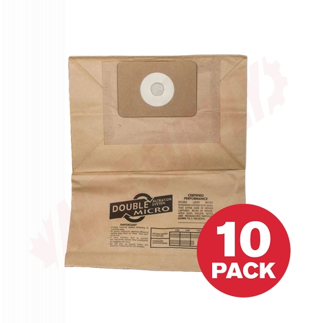 Photo 1 of XQC1001 : Vacuum Paper Bags, VACDCC200, 10/Pack