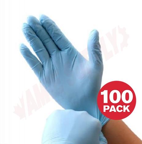 Photo 1 of WO7786389-L : Basic Hybrid Nitrile-Vinyl Disposable Exam Gloves, Large, 100/Pack