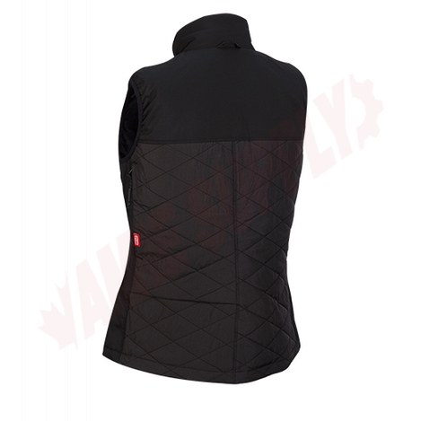 Photo 4 of 333B-21L : Milwaukee M12 AXIS Heated Women's Vest Kit, Black, Large