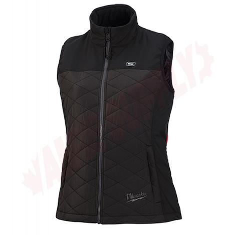 Photo 2 of 333B-21L : Milwaukee M12 AXIS Heated Women's Vest Kit, Black, Large