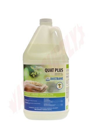 Photo 1 of DB50232 : Dustbane Quat Plus Liquid Disinfectant, 4L