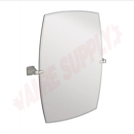 Photo 1 of Y3292BN : Moen Boardwalk Rectangle Tilting Mirror, Brushed Nickel, 26