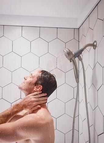 Photo 7 of 26100EPSRN : Moen Engage Magnetix Spot Resist Eco-Performance Handshower Handheld Shower, 1.75 Gpm, Brushed Nickel