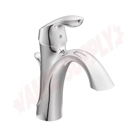 Photo 2 of 6400 : Moen Eva 1-Lever Handle High Arch Lavatory Faucet, Chrome