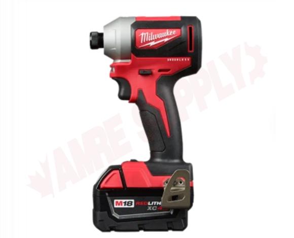 Photo 2 of 2893-22 : Milwaukee M18 Brushless 2-Tool Combo Kit, Hammer Drill & Impact Driver