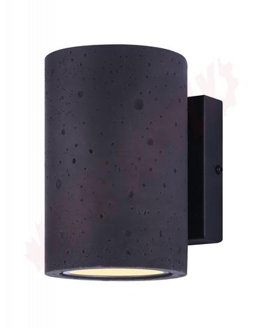 Photo 1 of LOL521BK : Canarm Calmar Outdoor LED Wall Light, 9W, 3000K, Black
