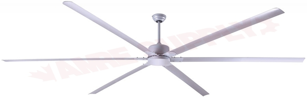 Photo 1 of CP96PG : Canarm FANBOS Commercial Ceiling Fan, 8', 6 Blade