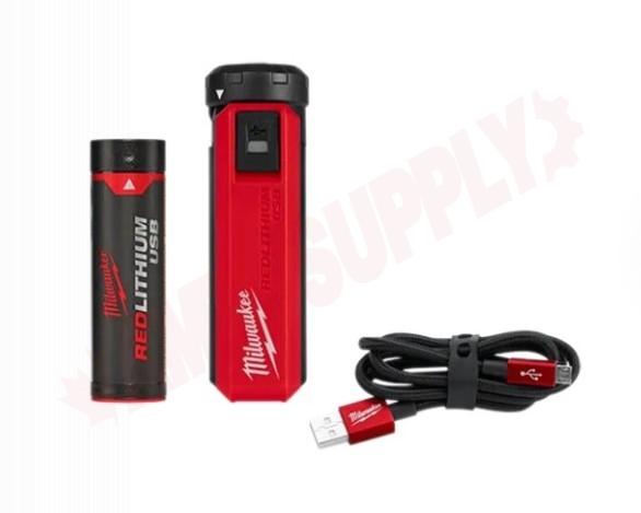 Photo 1 of 48-59-2013 : Milwaukee REDLITHIUM USB Charger & Portable Power Source Kit