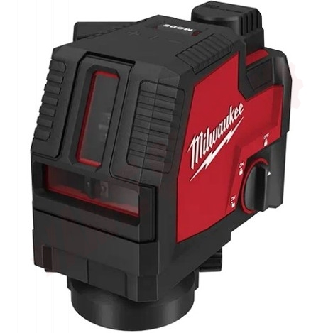 Photo 4 of 3521-21 : Milwaukee USB Rechargeable Green Cross Line Laser, 100'