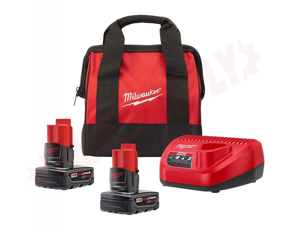 Photo 1 of 48-59-2442SPC : Milwaukee M12 Special Build Starter Kit, with Bag