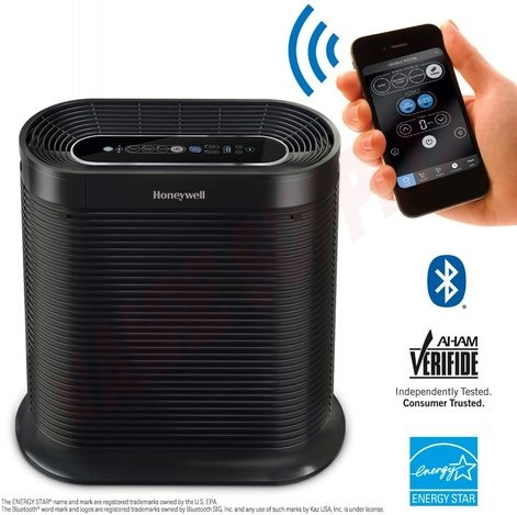 Photo 2 of HPA250B : Honeywell True HEPA Bluetooth Smart Portable Air Purifier With Allergen Remover, MAT.214-250