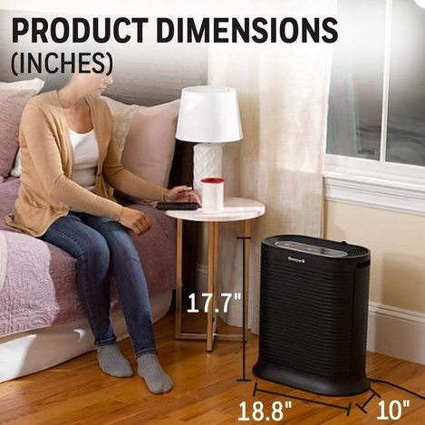 Photo 4 of HPA250B : Honeywell True HEPA Bluetooth Smart Portable Air Purifier With Allergen Remover, MAT.214-250