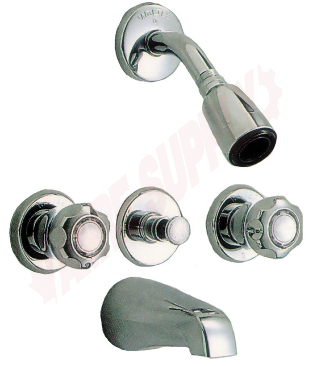 14f115 Waltec Tub Amp Shower Faucet Trim Compression