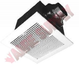Bpt15 14a1 gnn exhaust fan 80cfm 10 sone amre supply for Gnn bathroom fans