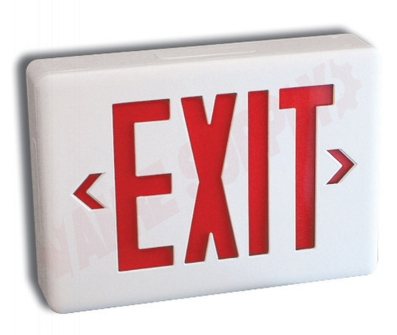 Photo 1 of SLEXPCOWH/IB : Stanpro Exit Sign, Commercial, Thermoplastic, Self-Powered