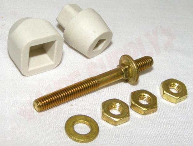 Photo 1 of Y304596 : Whirlpool Dryer Terminal & Insulator Kit