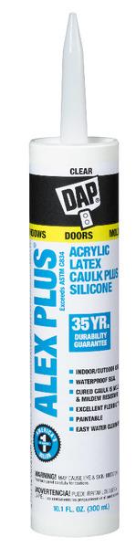 Dap All Purpose Caulk, Silicone, & Cement
