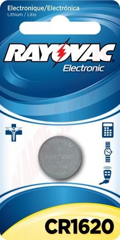 Photo 1 of KECR1620-1 : Lithium Keyless Entry Battery, 3v, 1620 Size, Individual