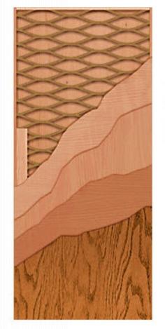 Photo 2 of PHSLAB36X80 : Jeld-Wen Primed Hardboard, 36W x 80H, 1-3/8