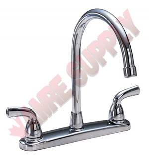 82204 Waltec 2 Handle Kitchen Faucet Washerless Metal