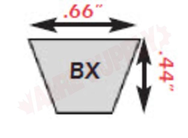 Photo 6 of BX35 : Jason Industrial 38 x 21/32 BX Cogged V Belt