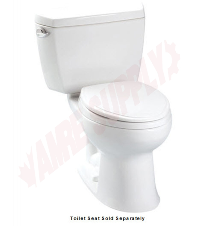 CST744EL01 : Toto Eco Drake, Elongated Toilet, 12\