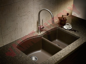 400309 : BLANCO DIAMOND U 1 3/4 SILGRANIT KITCHEN SINK, UNDERMOUNT, 1 ...