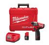 "Milwaukee M12 Fuel 1/4"" Hex Impact Driver Kit"