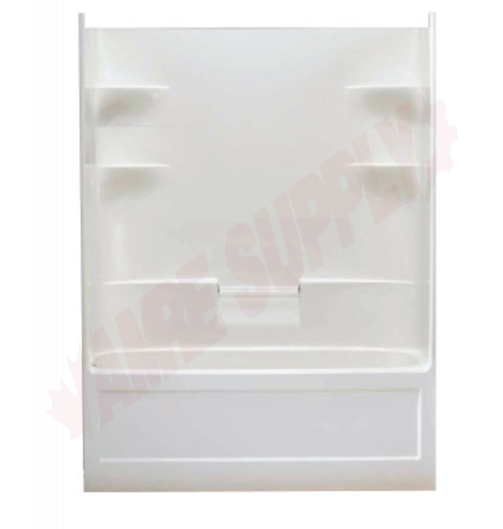 BA5R : Mirolin Belaire 1 Piece Tub Shower, Right Drain, White | Amre ...