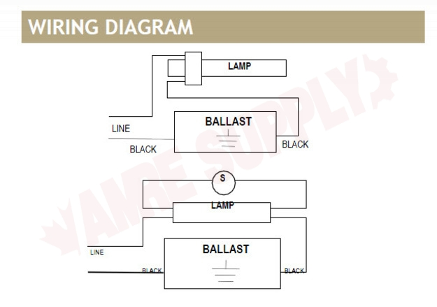 Sp2 Standard Lighting Magnetic Compact Fluorescent Ballast 120v Amre Supply