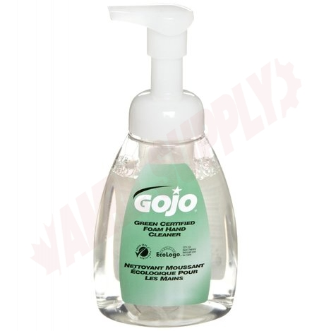 Photo 1 of 5715-06 : Gojo Green Certified Foam Hand Cleaner, 222mL Bottle with Pump