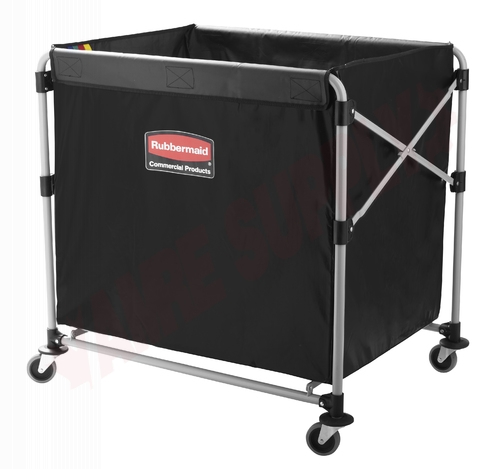 Photo 1 of 1881750 : Rubbermaid Collapsible X-Cart With Bag