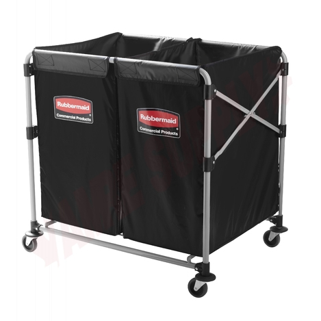 Photo 1 of 1881781 : Rubbermaid Collapsible X-Cart With Bag