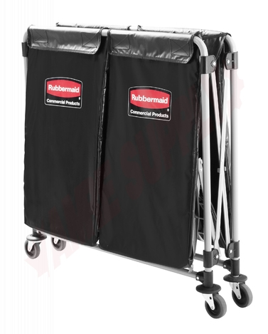 Photo 2 of 1881781 : Rubbermaid Collapsible X-Cart With Bag
