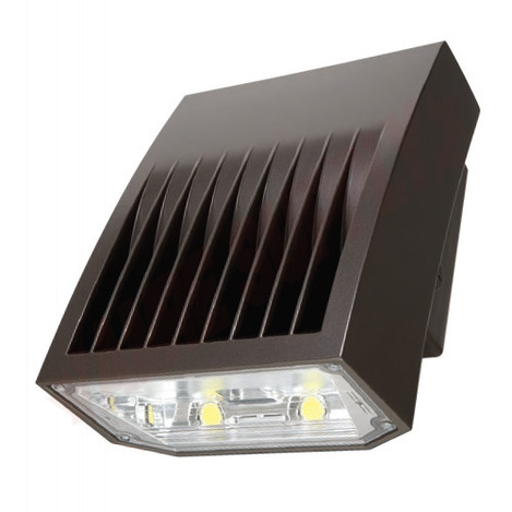 Photo 1 of XTOR5A-347 : Cooper Wiring LED Crosstour Maxx Wall Pack, Carbon Bronze, 50W