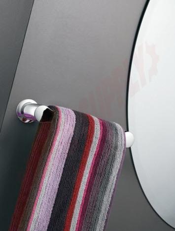 Photo 2 of YB2486CH : Moen Method Hand Towel Bar, 9, Chrome